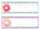 Donut Classroom Decor - EDITABLE BUNDLE