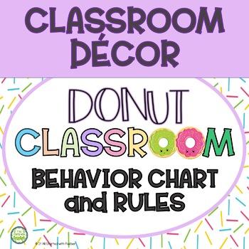 Donut Classroom Decor - Classroom Management