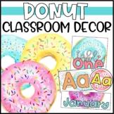 Donut Classroom Decor - Editable!