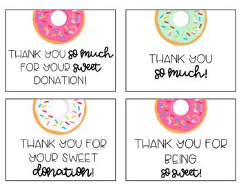 Donut Classroom Wish List