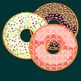 Donut Clip Art dough,nut clipart JPG files and PNG files