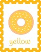 Donut Color Posters (classroom decor)