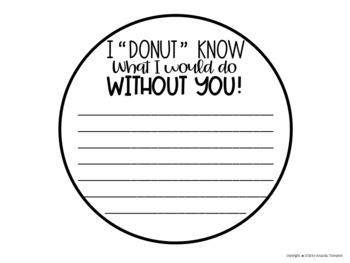 Donut Craft for Valentine's Day