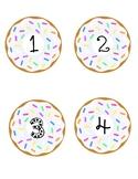Donut Cubbie Labels
