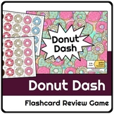 Donut Dash Flashcard Review Game