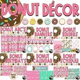 Donut Decor Bundle - Editable!