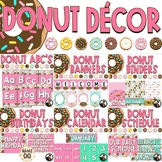 Donut Decor Bundle - Editable!