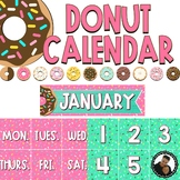Donut Decor - Editable Calendar Display
