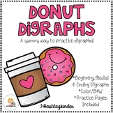 Donut Digraphs - Beginning, Medial and Ending Digraphs