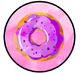 Donut Door Decoration - Welcome Banner
