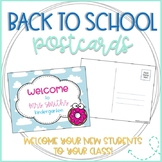 Donut Editable Back to School Postcards to Students