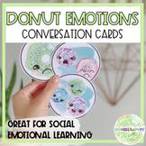 Donut Emotions Conversation Cards + Slides for Distance Learning