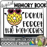 Donut Forget the Memories | Digital Memory Book | Distance