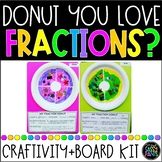 Donut Fractions | Fractions Craft | Fractions Bulletin Boa