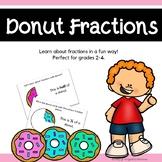 Donut Fractions - Fun Math Center