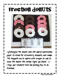 Donut Fun Fraction Activity