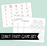 Donut Games Bundle - Bingo and Tic Tac To