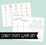 Donut Games Bundle - Bingo and Tic Tac To