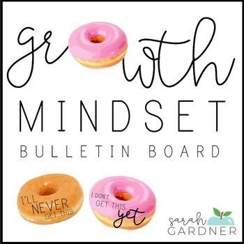Donut Growth Mindset Posters