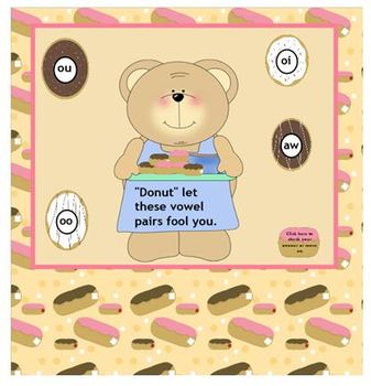 Donut Let The Vowels Fool You POWERPOINT