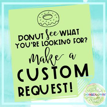 Donut Lovin' Custom Order