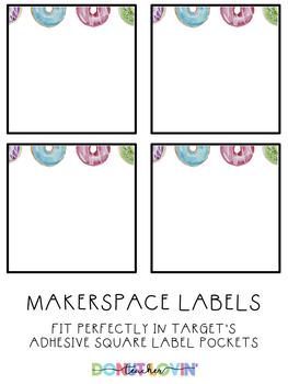 Donut Lovin' Makerspace Labels