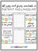 Donut Lovin' Welcome Sign + Sign In Sheet