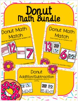 Donut Math Bundle