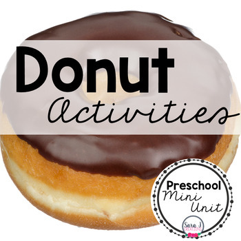 Donut Math and Literacy Activities