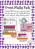 Donut Maths Pack