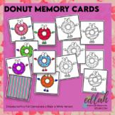 Donut Memory Card Game