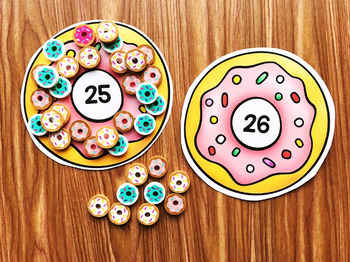 Donut Mini Eraser Activities