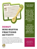 Donut Mini-Muffin Fraction Activity