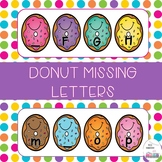 Donut Missing Letters