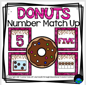Donut Number Match Up