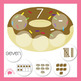 Donut Number Mats Numbers 1 - 10