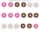 Donut Order Form: Vocational File Folder Activity