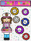 Donut Phonics-Reading Center Interactive Activities
