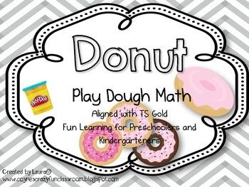 Donut Play Dough Math