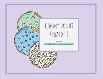 Donut Secondary Reward-Printable AND Google Slides Version - Gogokid/VIPKID