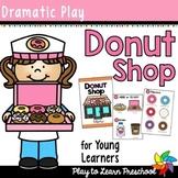 Donut Shop Dramatic Play