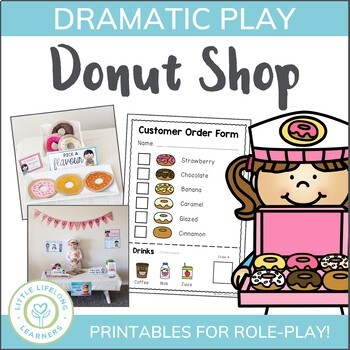 Donut Shop Dramatic Play Printables