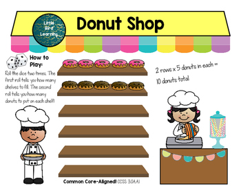 Donut Shop Multiplication Center