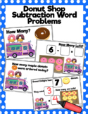 Donut Shop Subtraction Word Problems