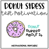Donut Stress about it! Testing Motivation