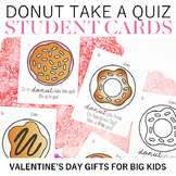Donut Take a Quiz Valentines