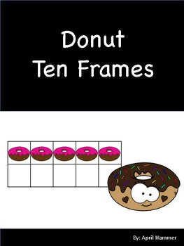 Donut Ten Frame using mini erasers #1-20