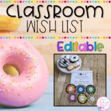 Class Wish List