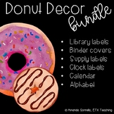 Donut Themed Classroom Decor