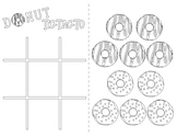 Donut Tic Tac To Game Activity